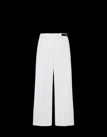 FORMAL TROUSERS Ivory Skirts and Trousers Woman