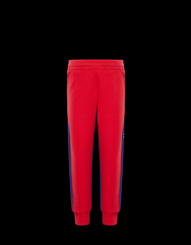CASUAL TROUSER Red Category Casual trousers Man