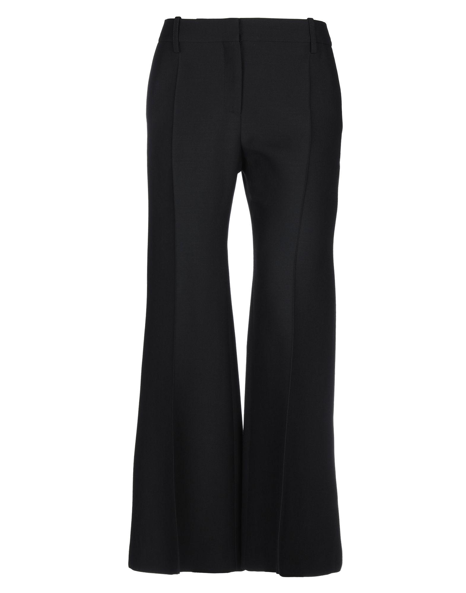 《セール開催中》VALENTINO レディース パンツ ブラック 44 バージンウール 65% / シルク 35%