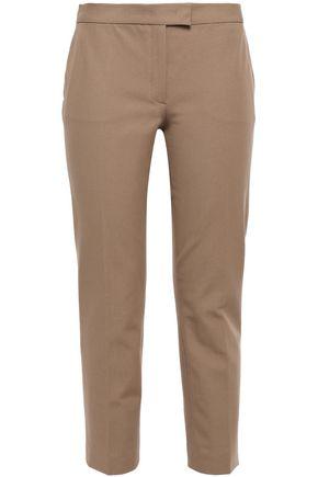 JOSEPH Cropped stretch-gabardine slim-leg pants