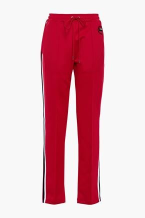 MARKUS LUPFER Kimmy sequin-embellished stretch-jersey track pants