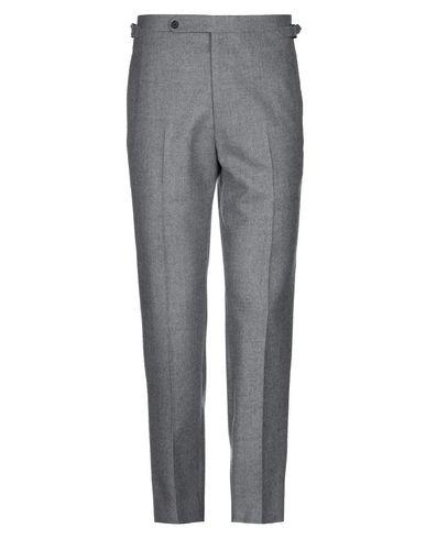Фото - Повседневные брюки от HUSBANDS серого цвета