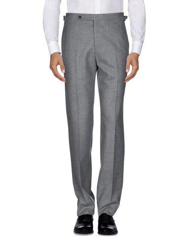 Фото 2 - Повседневные брюки от HUSBANDS серого цвета