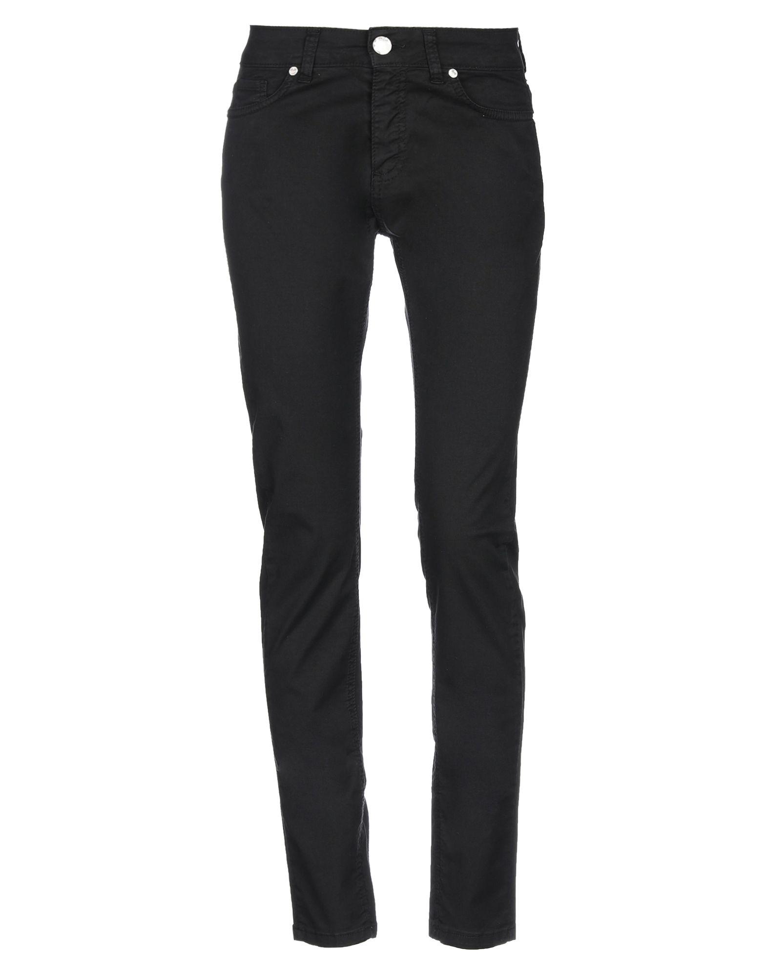 《セール開催中》SANDRO FERRONE レディース パンツ ブラック XS コットン 97% / ポリウレタン 3%