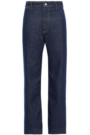 SIMON MILLER High-rise straight-leg jeans