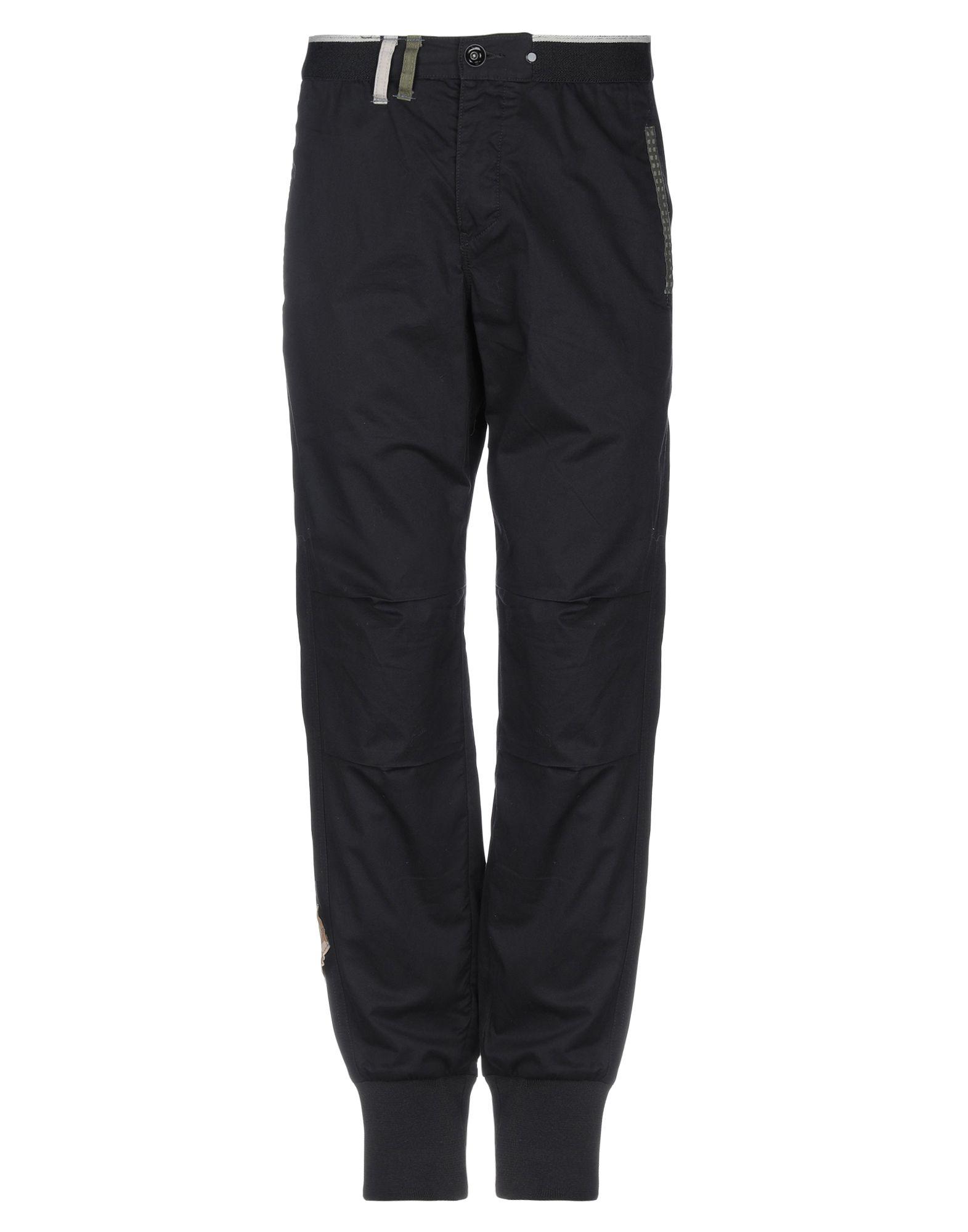 《セール開催中》ATELIER & REPAIRS メンズ パンツ ブラック 32 コットン 100%