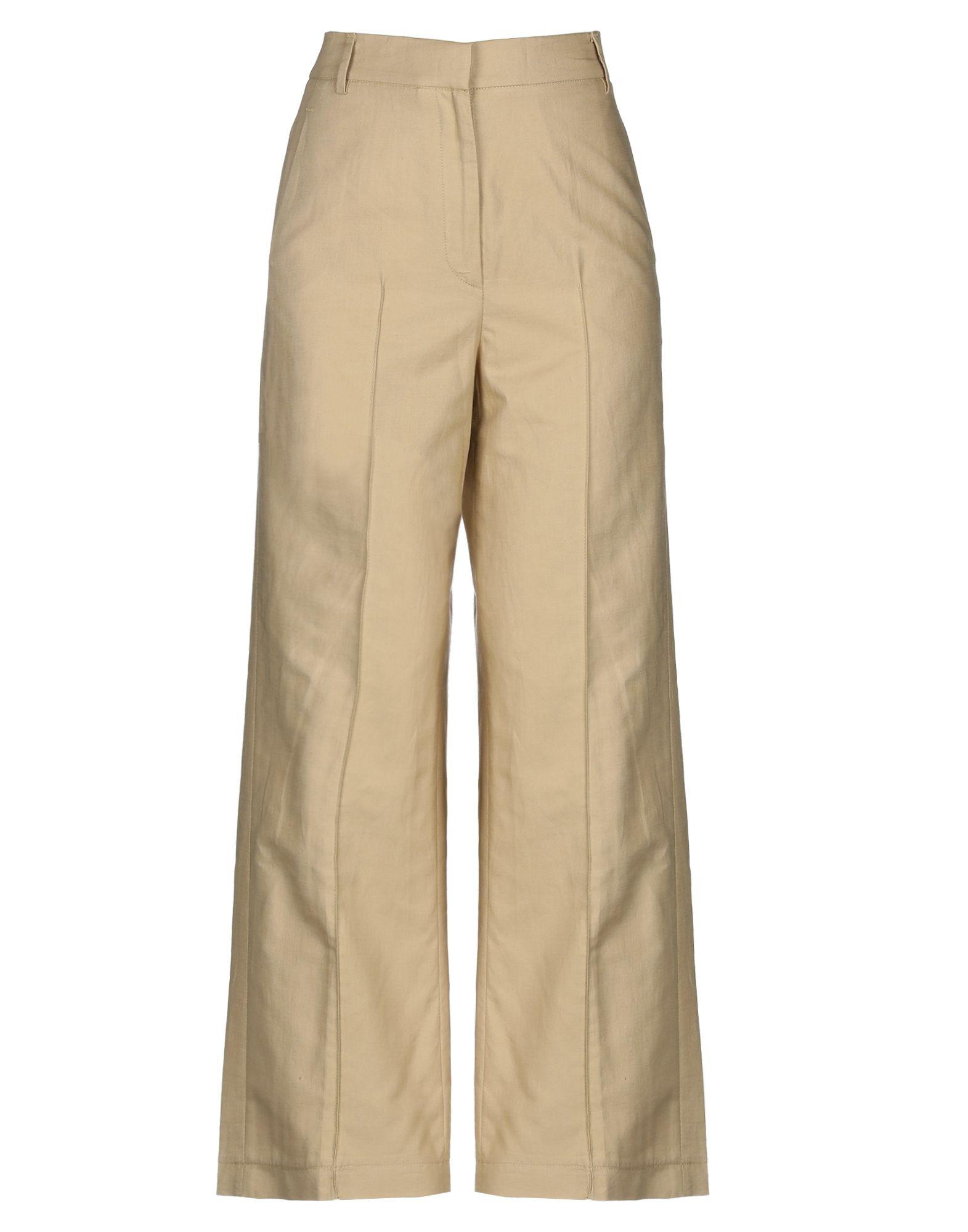 JUPE DE SATIN Повседневные брюки