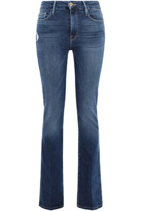 FRAME Blondie mid-rise bootcut jeans