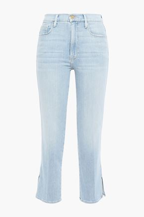 FRAME Superstar high-rise slim-leg jeans