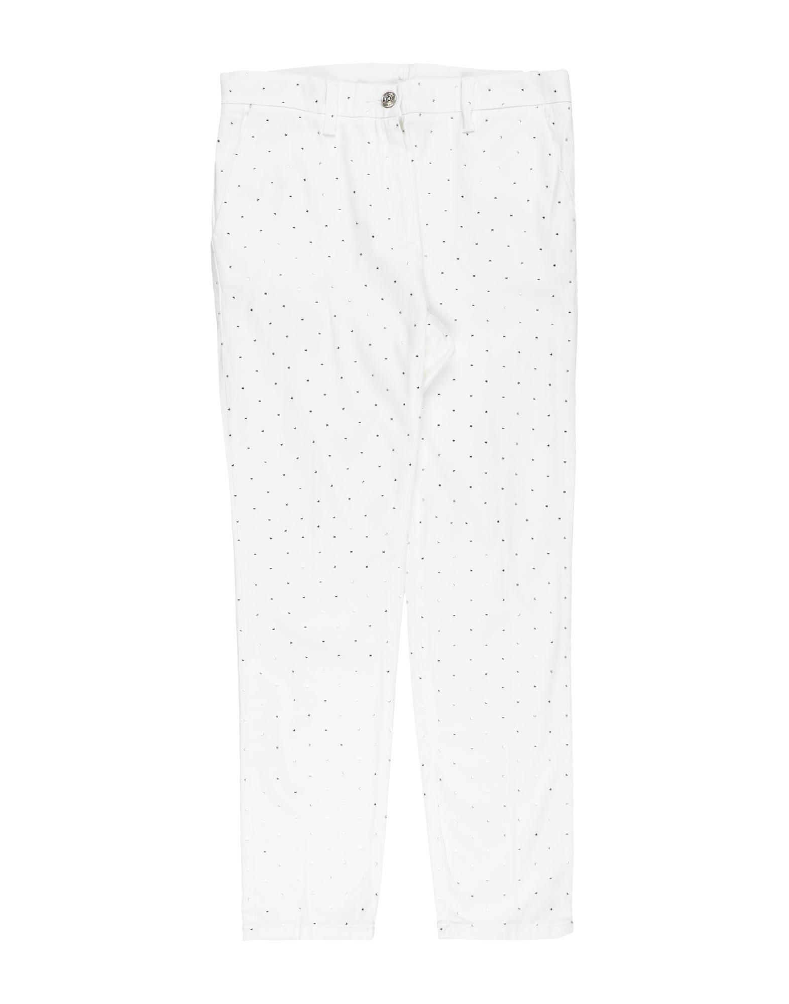 Monnalisa Kids' Casual Pants In White