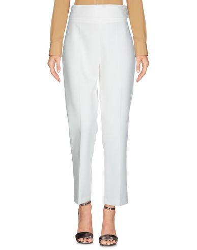 Фото 2 - Повседневные брюки от HAPPY25 белого цвета