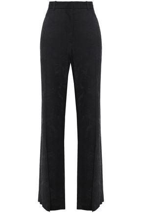 VICTORIA BECKHAM Satin-jacquard wide-leg pants