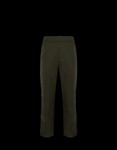 CASUAL TROUSER Military green Trousers