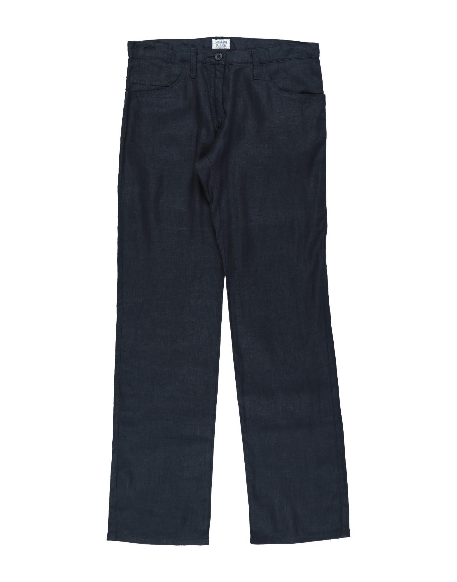 Armani Junior Kids' Casual Pants In Blue