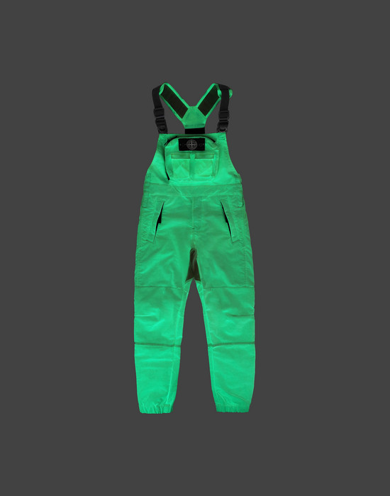 STONE ISLAND KIDS OVERALL F0141 GLOW IN THE DARK