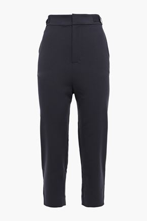 EQUIPMENT Charlyne cropped crepe tapered pants