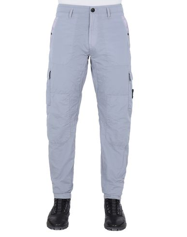 STONE ISLAND 32029 S.I.PA/PL SEERSUCKER-TC  Pants Man Dust Gray USD 233
