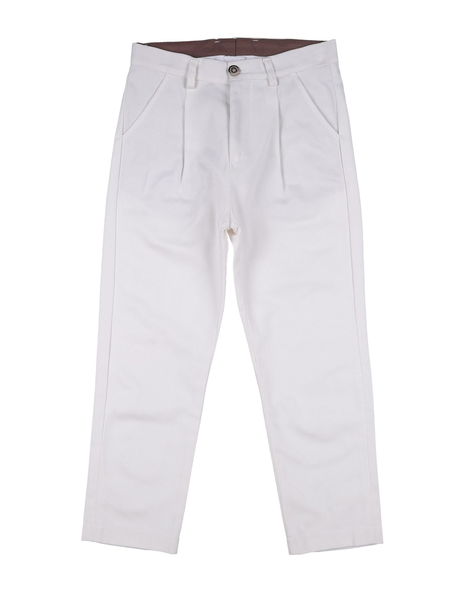 26.7 Twentysixseven Kids' Casual Pants In White