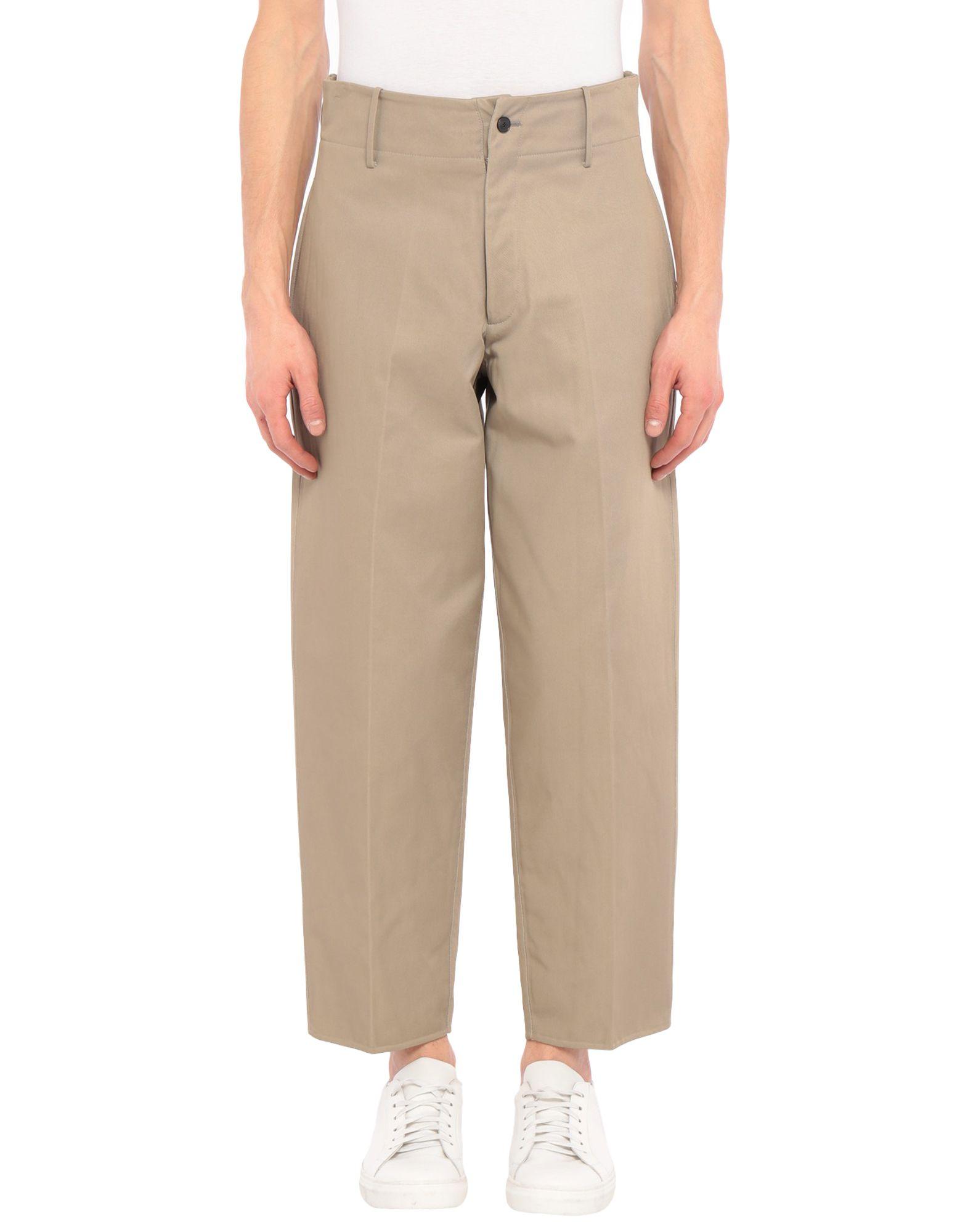 《セール開催中》CELLAR DOOR メンズ パンツ サンド 46 コットン 56% / ナイロン 43% / シルク 1%