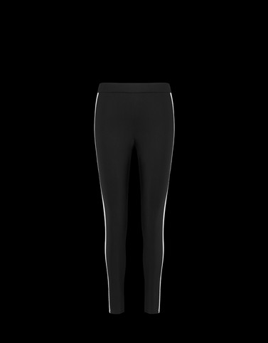 LEGGINS Black Skirts and Trousers Woman