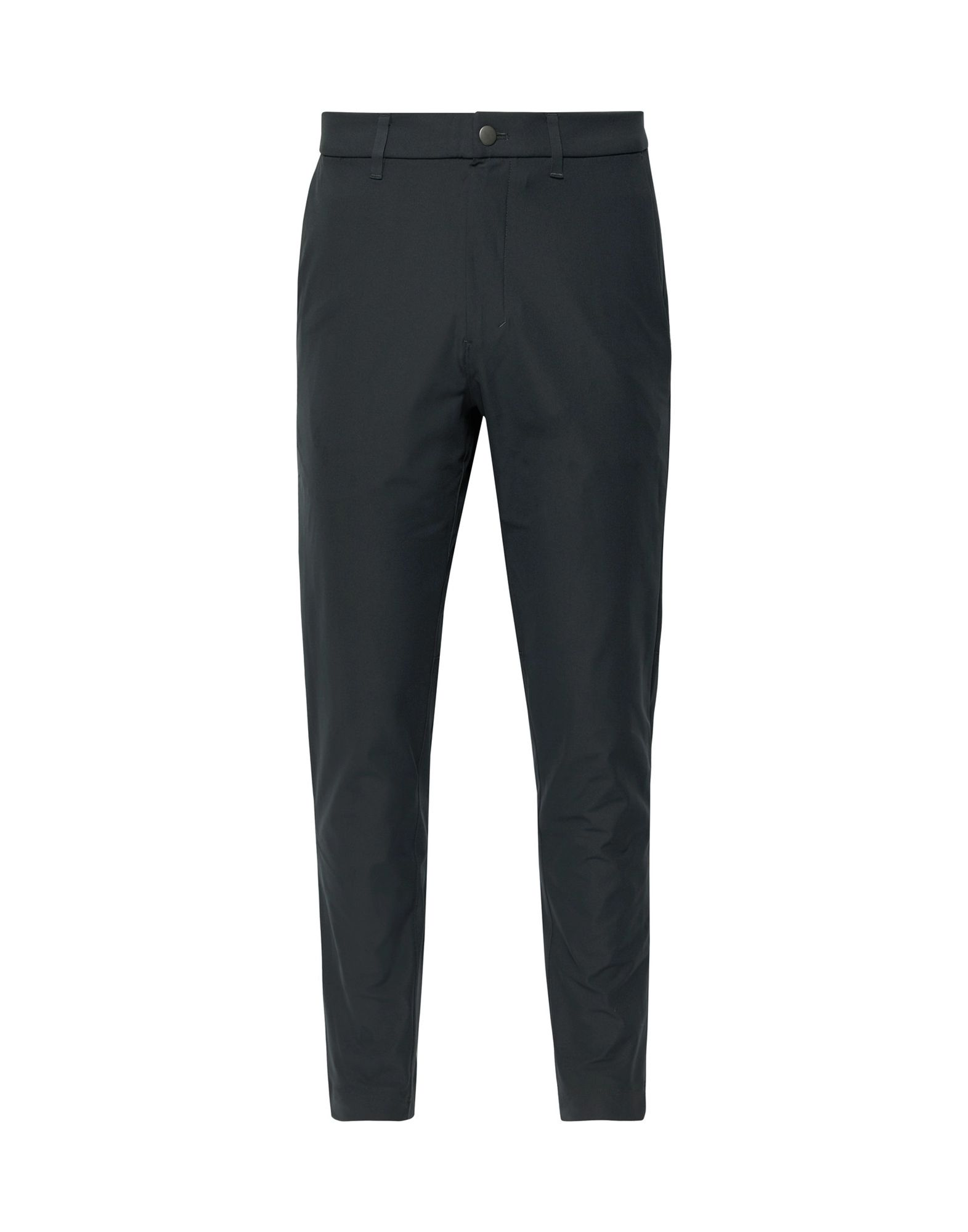 LULULEMON Casual pants. plain weave, solid color, no appliqués, mid rise, regular fit, straight leg, button, zip, multipockets. 100% Polyester