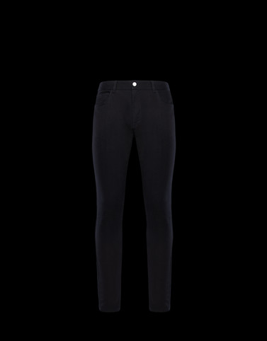 CASUAL TROUSER Black Category Casual trousers Man