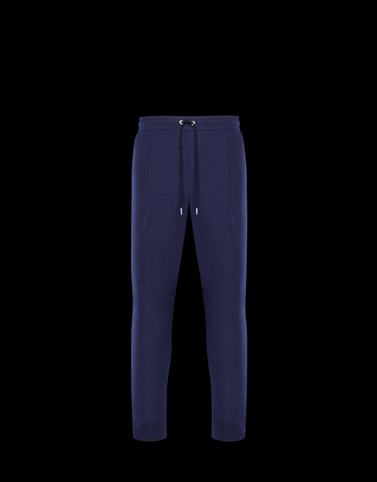 ATHLETIC TROUSERS Dark blue New in Man