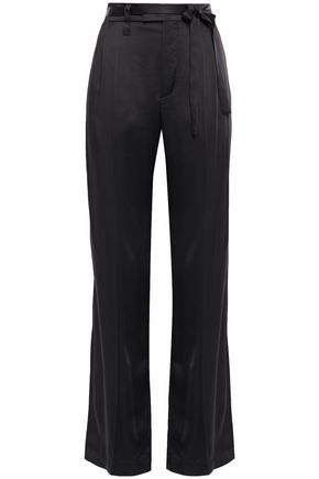 BRUNELLO CUCINELLI Satin wide-leg pants