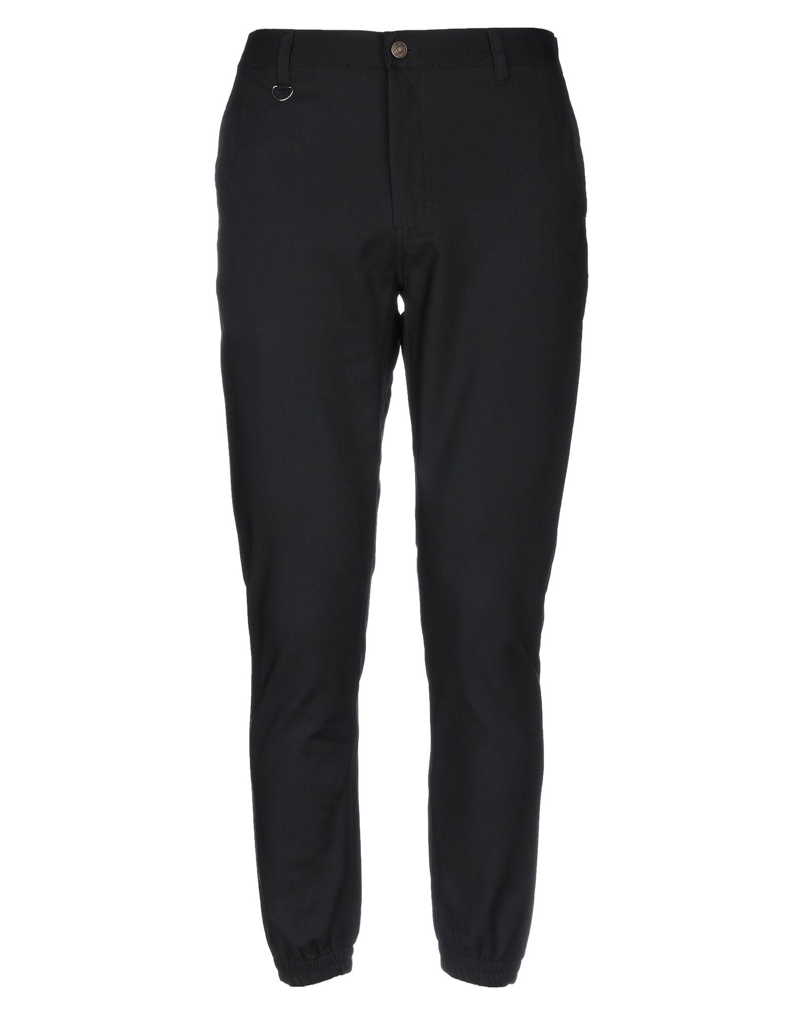 《セール開催中》DAILY PAPER メンズ パンツ ブラック S コットン 50% / ナイロン 47% / ポリウレタン 3%