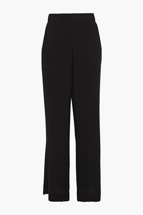 VINCE. Crepe wide-leg pants