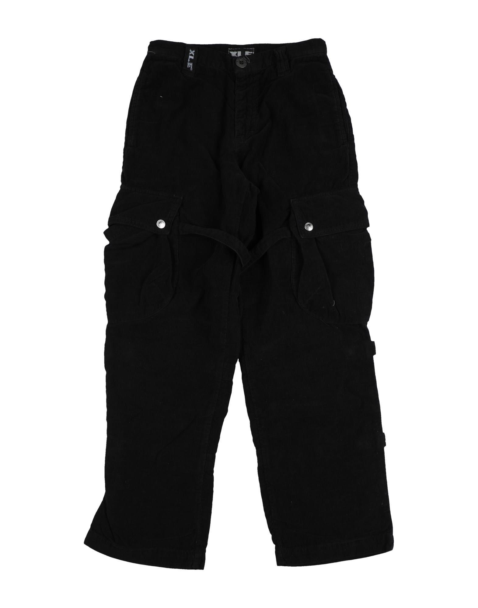 Xle International Company Kids' Casual Pants In Black