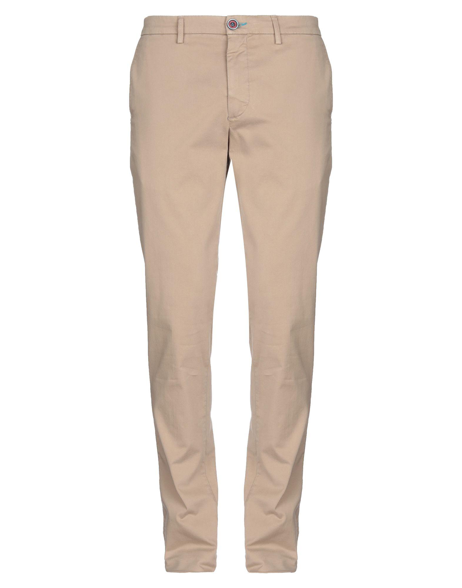 《セール開催中》DIMATTIA メンズ パンツ サンド 46 コットン 97% / ポリウレタン 3%