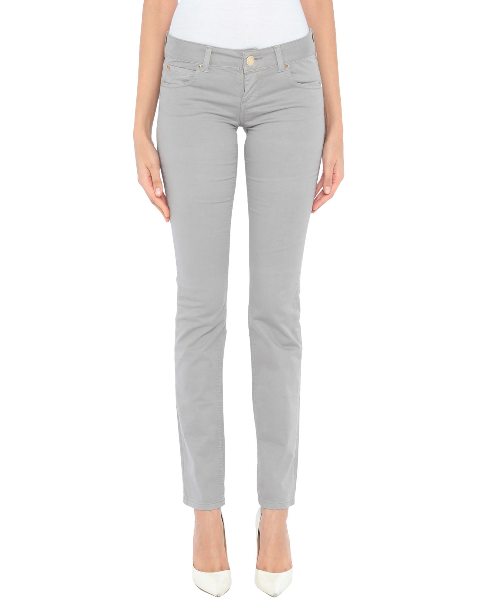 FLY GIRL Повседневные брюки tapered fit zip fly basic jeans