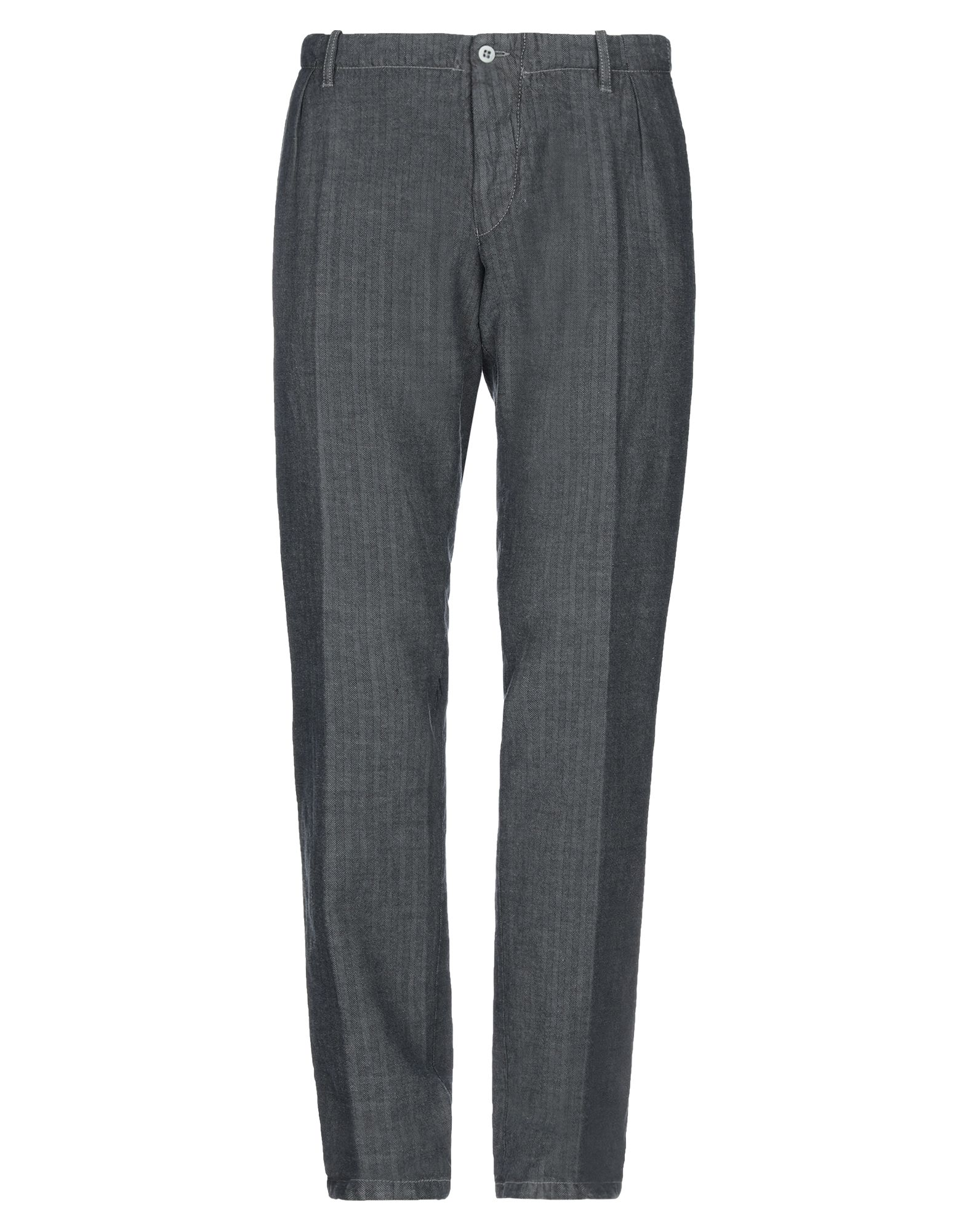 《セール開催中》BERWICH メンズ パンツ スチールグレー 54 コットン 54% / リネン 46%