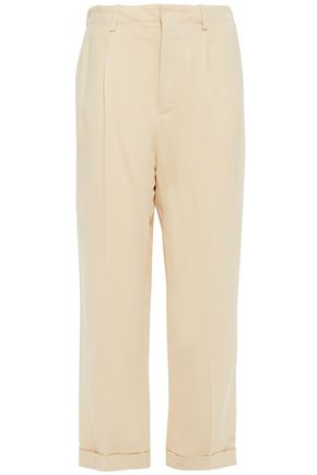 VANESSA BRUNO Cropped crepe tapered pants