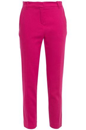 VANESSA BRUNO Moustique cropped wool-blend twill slim-leg pants
