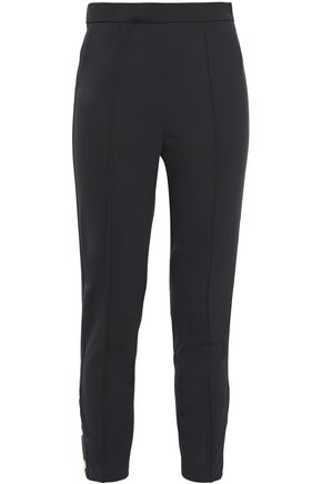 TORY BURCH Cropped jersey leggings
