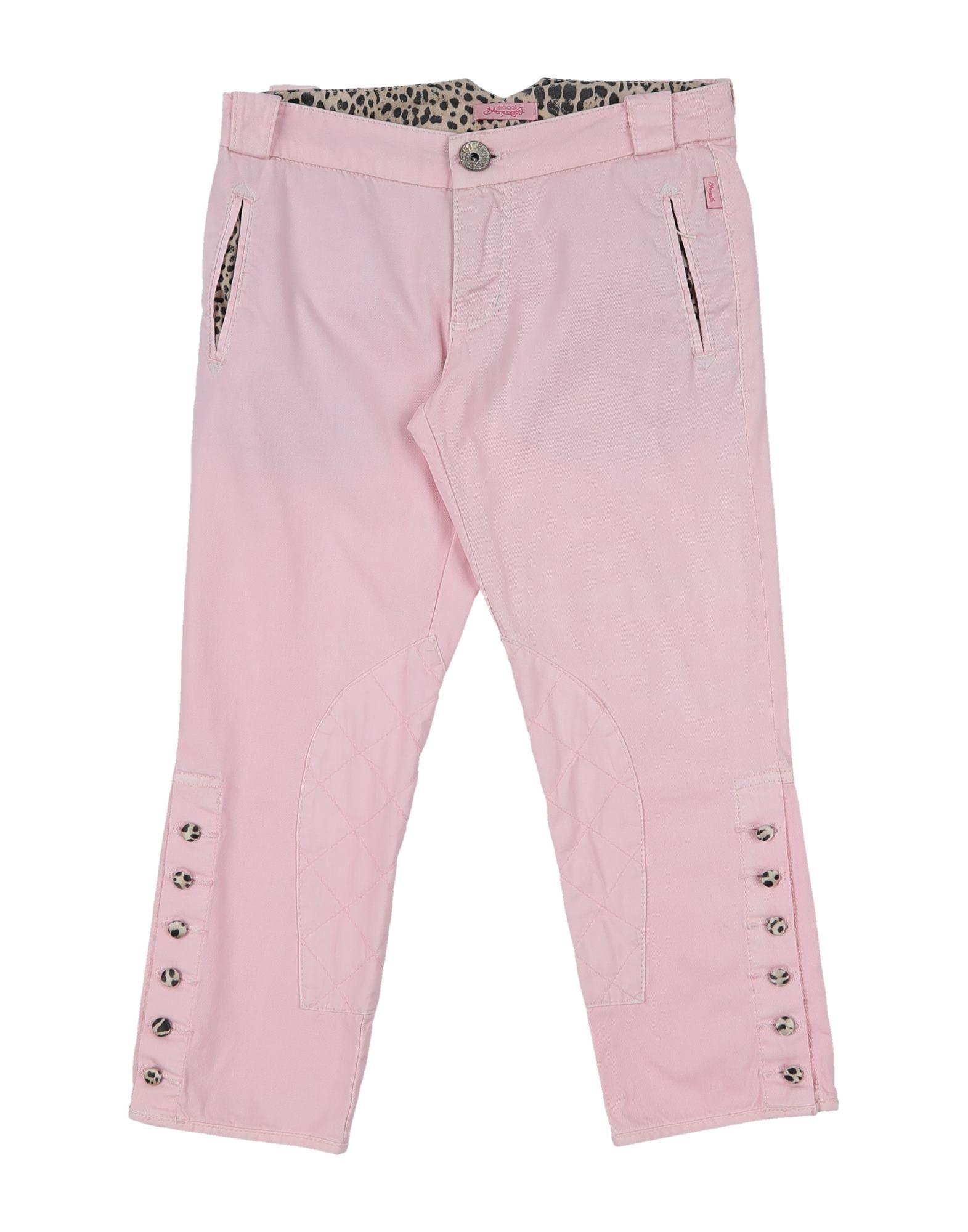 Roberto Cavalli Junior Kids' Casual Pants In Pink