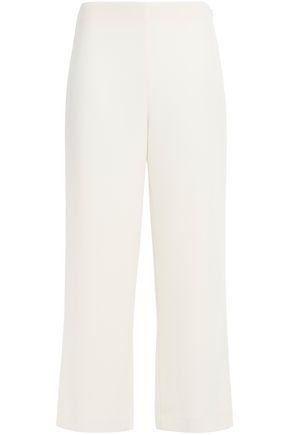 THEORY Crepe wide-leg pants