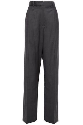 THEORY Wool-twill straight-leg pants
