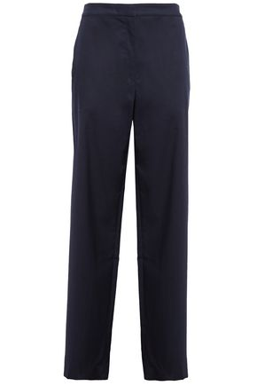 THEORY Cotton-blend twill straight-leg pants