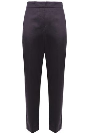 THEORY Cotton tapered pants