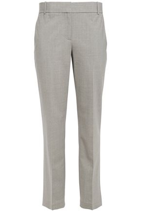 THEORY Stretch-wool straight-leg pants