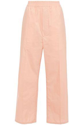 MM6 MAISON MARGIELA Cotton-blend poplin wide-leg pants