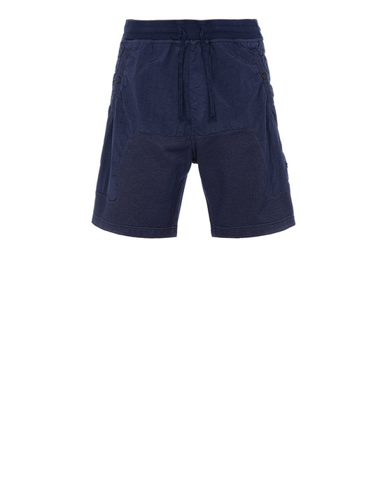 STONE ISLAND SHADOW PROJECT 60307 COMPACT SHORTS SHADOW PROJECT BERMUDA SHORTS Man Blue