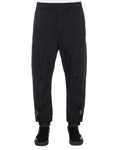STONE ISLAND SHADOW PROJECT 30206 CONVERT CARGO PANTS TROUSERS Man Black USD 526