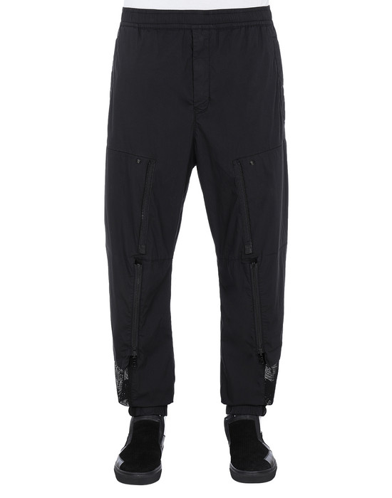 STONE ISLAND SHADOW PROJECT 30206 CONVERT CARGO PANTS TROUSERS Man Black