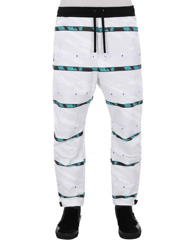 STONE ISLAND SHADOW PROJECT 30312 SWEAT PANTS TROUSERS Man White EUR 412