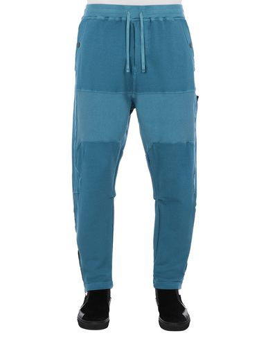 STONE ISLAND SHADOW PROJECT 30407 COMPACT SWEATPANTS TROUSERS Man Teal EUR 440