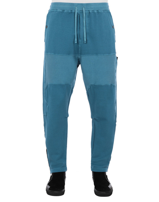 STONE ISLAND SHADOW PROJECT 30407 COMPACT SWEATPANTS TROUSERS Man Teal